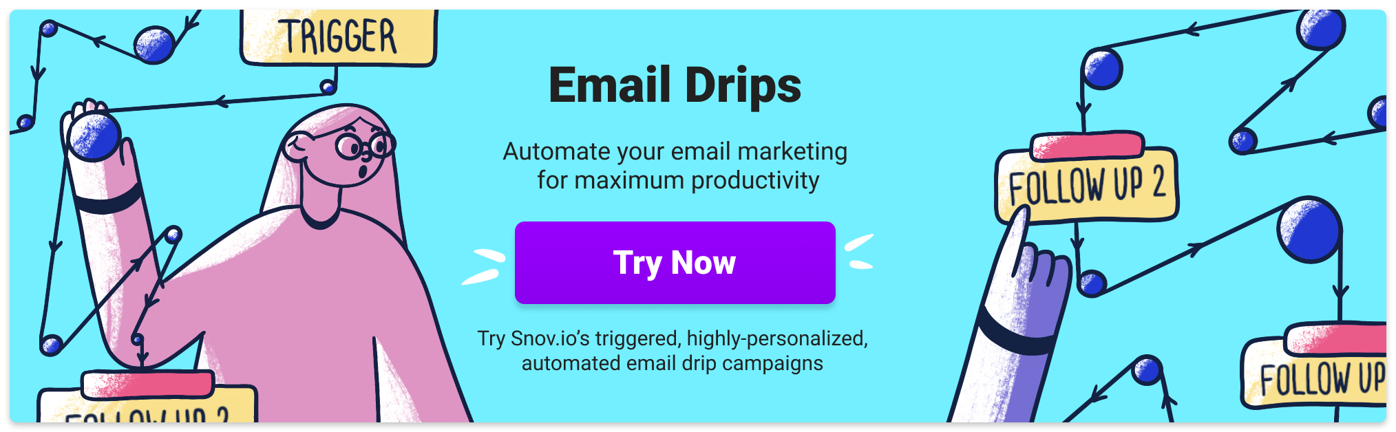 Email drip campaigns - a triggered email sender