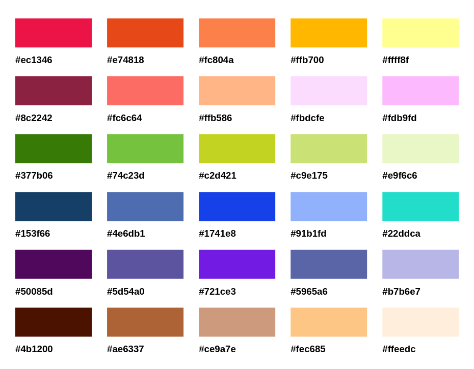Colors In Email Marketing