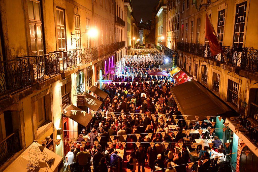 Night Summit on Lisbon's Pink Street Source: @CollisionHQ on Twitter