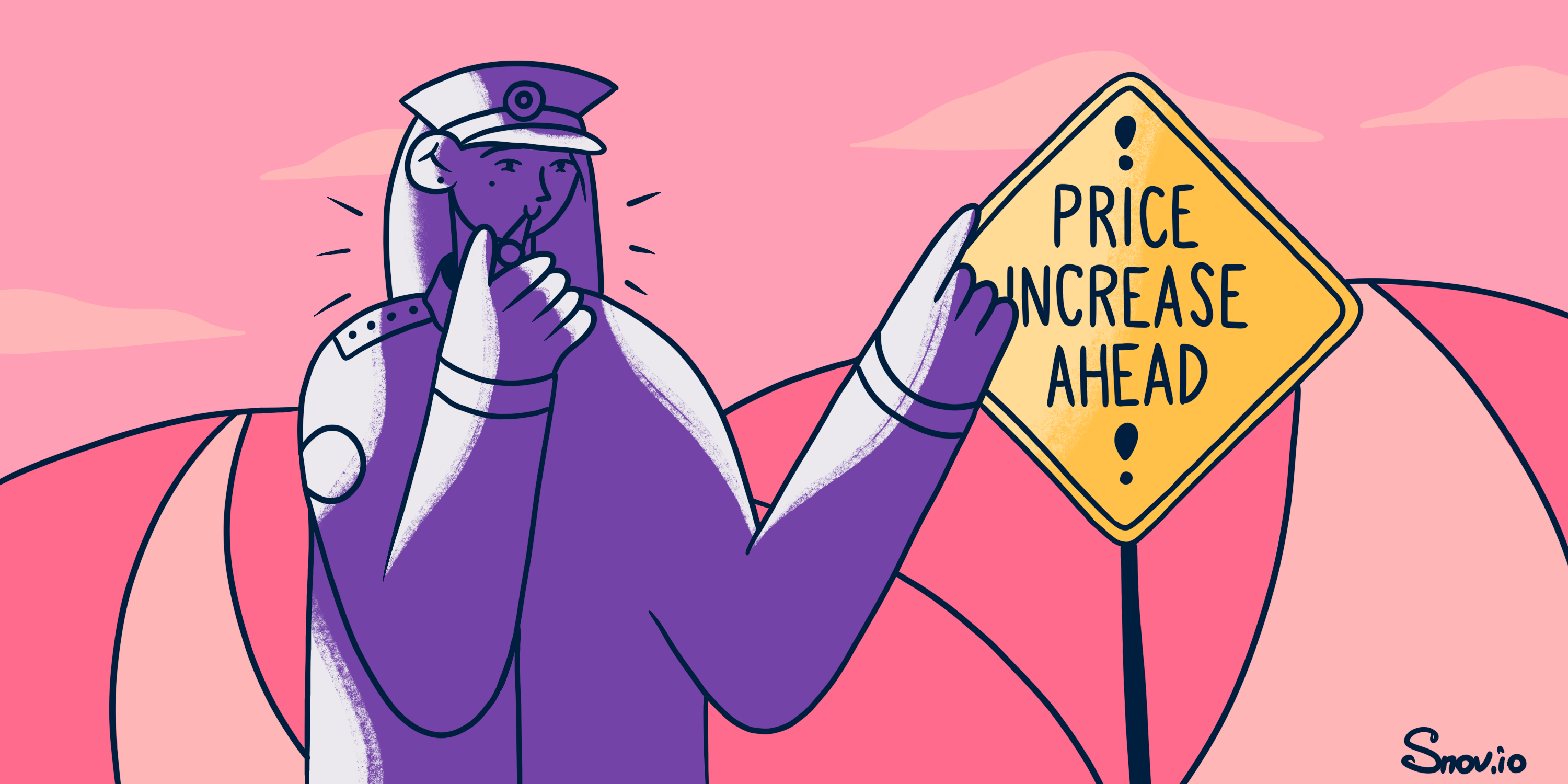How to write a price increase email letter
