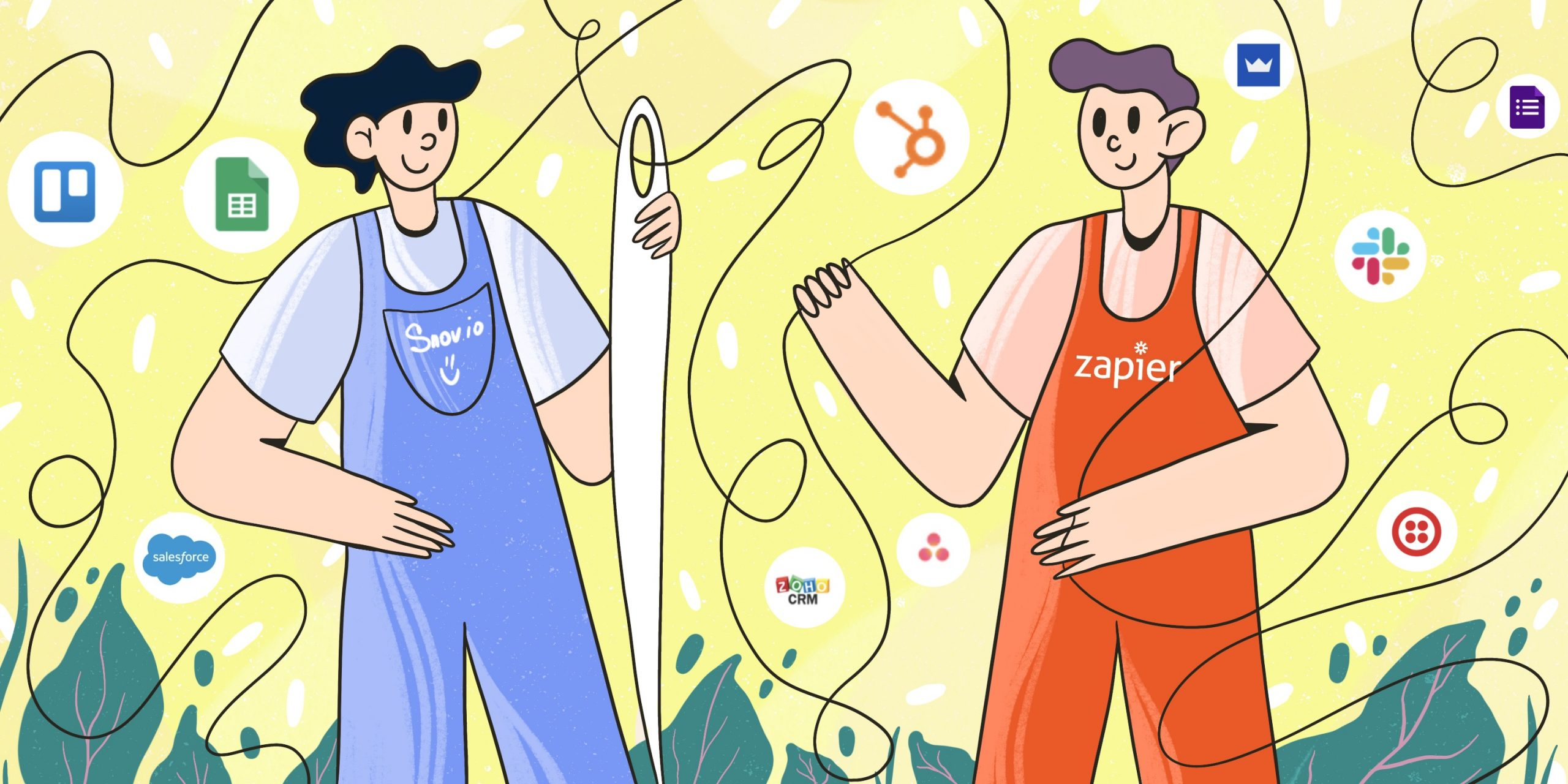 Integrate Your Favorite Apps With Snov.io: Zapier Integration Is Here