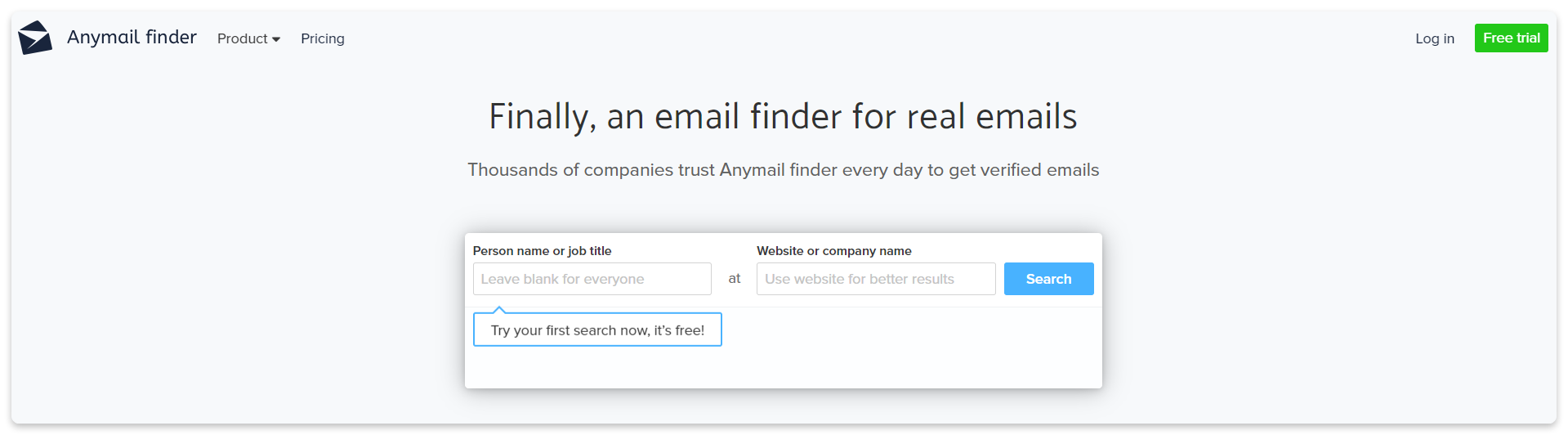anymail finder