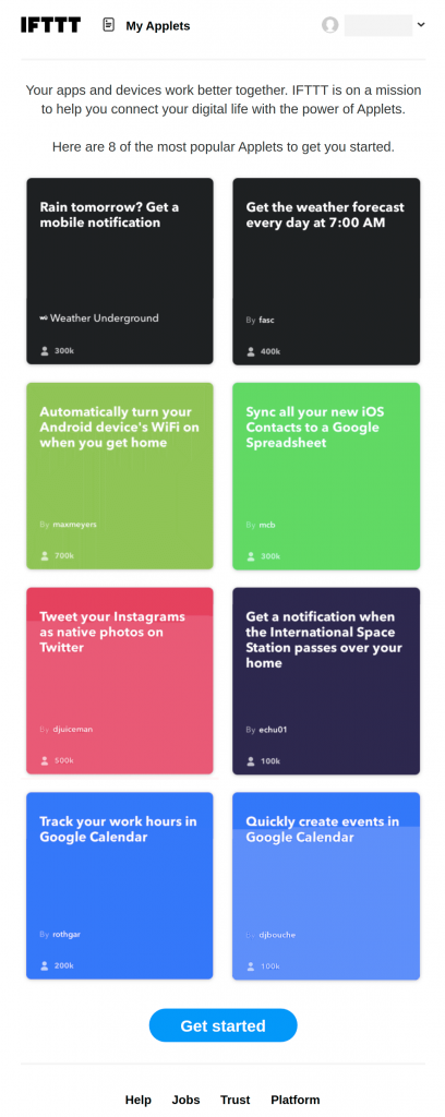 welcome onboarding emails examples IFTTT, Google Analytics, and AppSumo