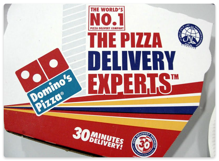domino's pizza unique selling point