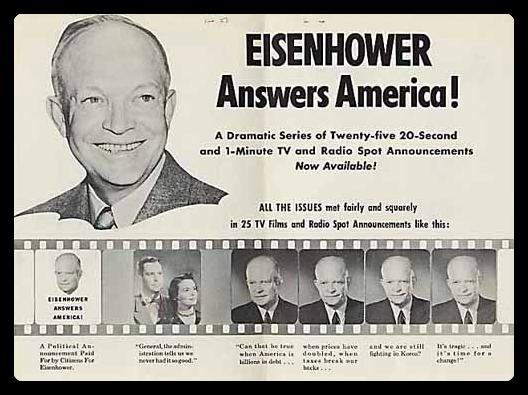 Rosser Reeves / Eisenhower USP campaign