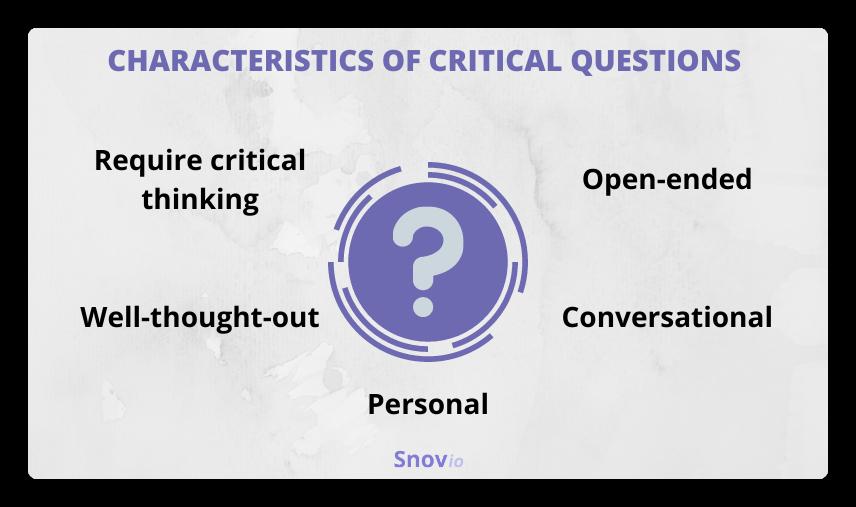 Critical questions