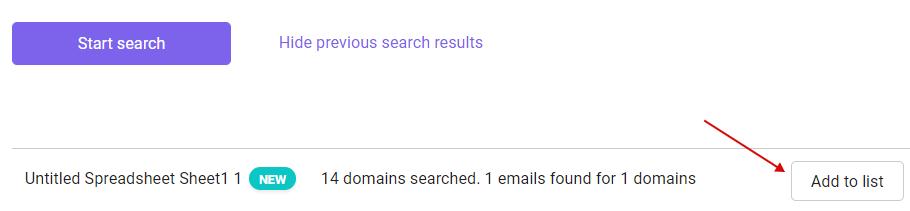 bulk search