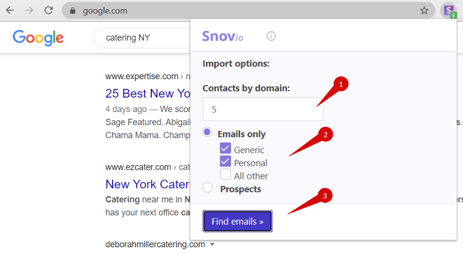 email finder extension