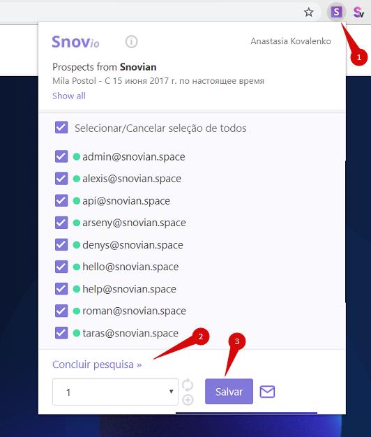 Como obter contatos de e-mail de qualquer página da web