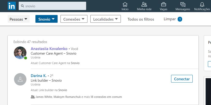 Como encontrar e-mails na página de pesquisa de uma rede social profissional (para contas gratuitas)