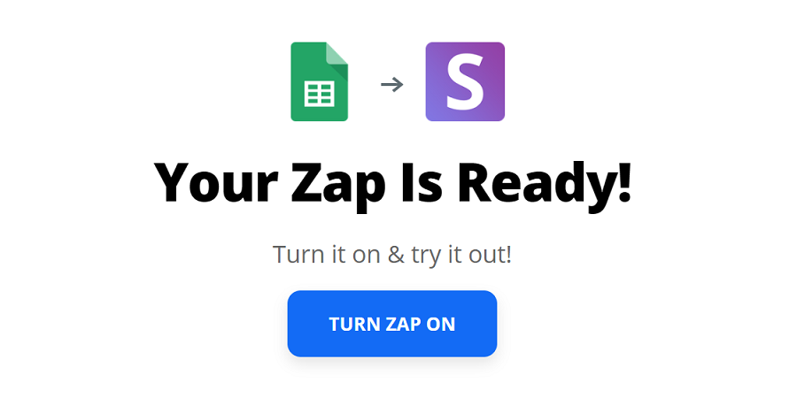 How to set up a Zap