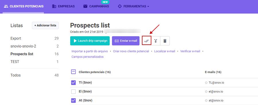 Como verificar endereços de e-mail