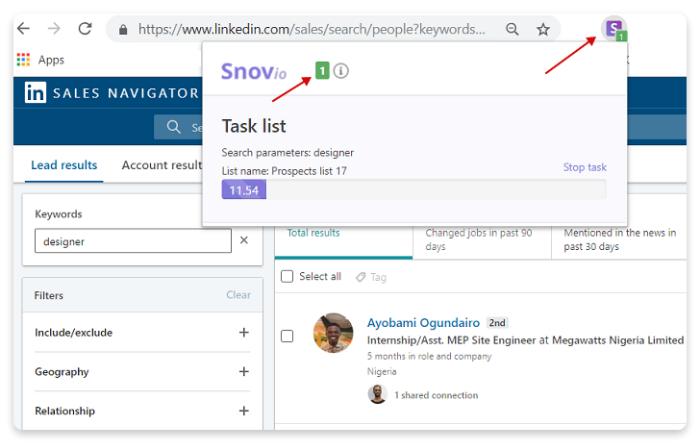 Como encontrar e-mails na página de pesquisa de uma rede social profissional