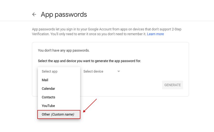 Como configurar uma conta SMTP G-Suite para permitir a autorização completa do Google