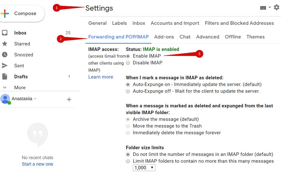 Como configurar uma conta SMTP do Gmail para permitir a autorização completa do Google