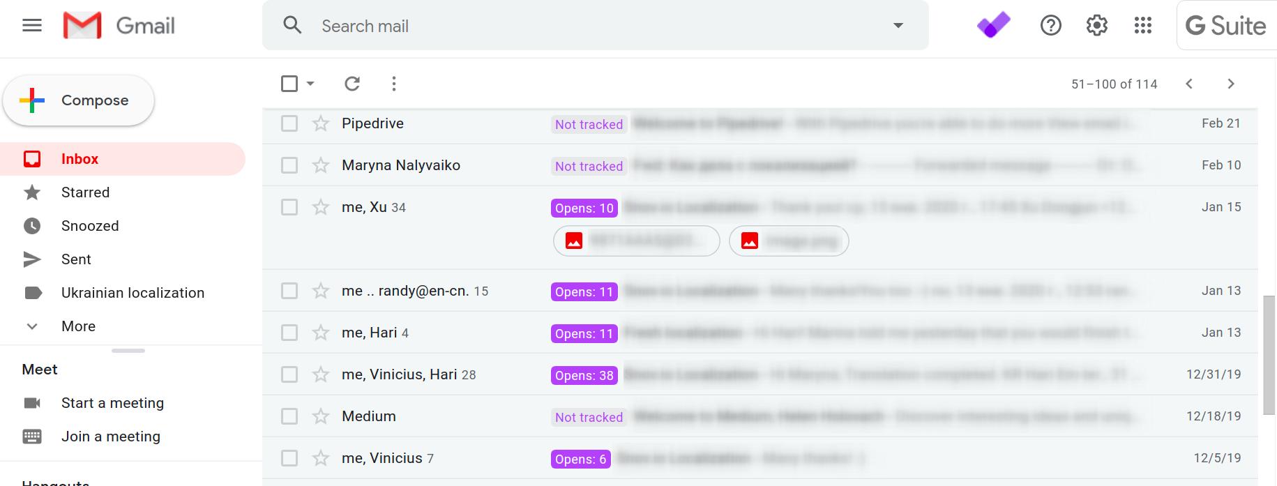 Як відстежувати вихідну пошту в акаунті Gmail