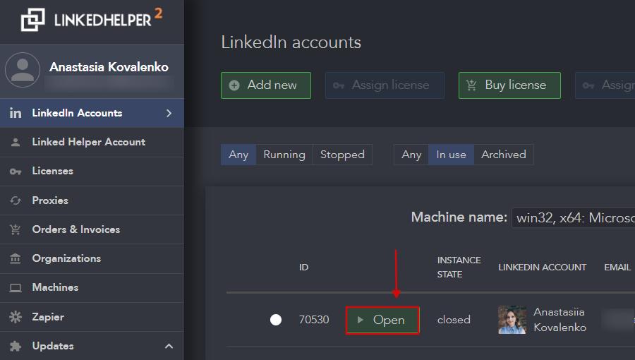 Linked Helper 2 integration